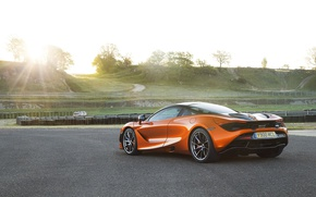 Picture car, McLaren, supercar, McLaren 720S Rear