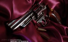 Picture gun, cartridges, revolver, Atlas