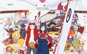 Picture girl, robot, rabbit, anime, dog, katana, ken, blade, ninja, manga, shinobi, japanese, kimono, ninjaken, bishojo, …