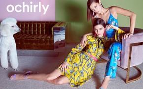 Picture pose, photo, girls, model, dress, Kendall Jenner, Bella Hadid, Oshirly