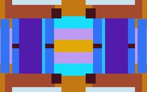 Picture geometry, figure, symmetry