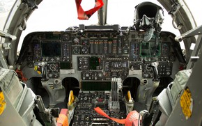 Picture devices, cabin, strategic bomber, Rockwell B-1 Lancer