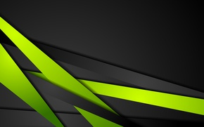 Wallpaper shiny, dark, black, black, line, contrast, bacground, vector, abstraction, abstract, green, green