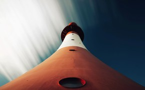 Picture the sky, background, lighthouse