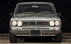 Picture Auto, Machine, Classic, Light, Grey, Nissan, Nissan, Lights, Car, 2000, Skyline, Nissan Skyline, The front, …