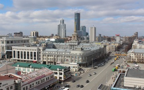 Picture the city, height, Ekaterinburg, the bell tower