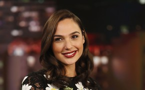 Picture Red, Smile, Lips, Actress, Model, Smile, Lipstick, Actress, Lips, Model, Gal Gadot, Gal Gadot, Photo …