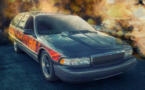 Picture Buick, Roadmaster, car, luxury