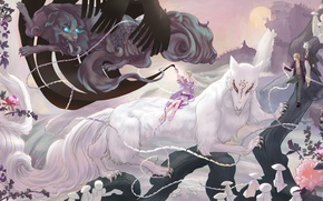 Picture anime, art, Natsume Yuujinchou, Book of friendship Natsume