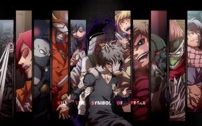 Picture anime, evil, hands, manga, powerful, strong, uniform, enemy, seifuku, Boku no Hero Academy, My Hero …