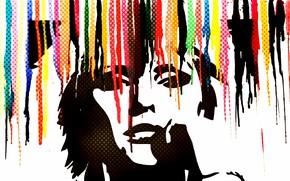 Picture background, color, portrait