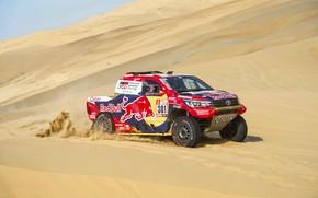 Picture Auto, Sport, Machine, Race, Toyota, Hilux, Rally, Dakar, Dakar, SUV, Rally, Sport, Toyota, Hilux, The …