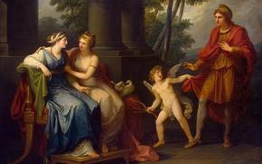 Picture 1790, Venus persuading Helen to love Paris, Classicism, Angelica Kaufman