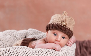 Picture face, hat, baby, hat, baby, baby, Infants