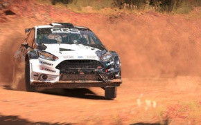 Picture car, game, dust, race, speed, Dirt 4