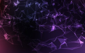 Wallpaper vector, abstract, background, violet, mesh