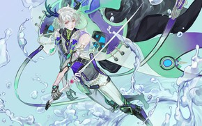 Picture fantasy, sword, guy
