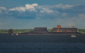 Picture Navy, submarine, Russia, Project 941