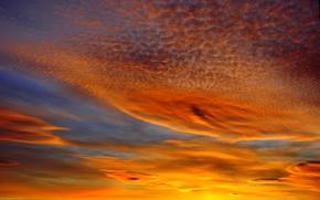 Picture the sky, clouds, landscape, landscapes, Sunset, beauty, cloud, beautiful, beautiful sunset