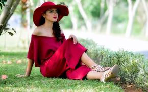 Wallpaper girl, style, KARLINA I WAS