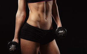 Picture front, cover, workout, fitness, abs