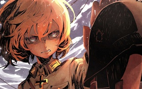 Picture Anime, Tanya, Youjo Senki, Military chronicle of a little girl