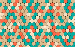 Wallpaper geometric, background, geometry, colorful, shapes, hexagon, abstract, abstrakciya, pattern