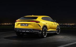 Picture Lamborghini, rear view, 2018, Urus