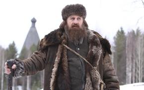 Picture winter, the film, coat, beard, winter, film, Gerard Depardieu, beard, Rasputin, fur coat, Gérard Depardieu, …