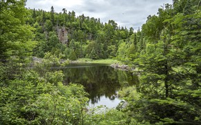 Picture Sleeping Giant, Provincial Park, Ontario Canada