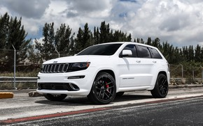 Picture wheels, SRT, Jeep, Grand Cherokee, Velgen, with 22