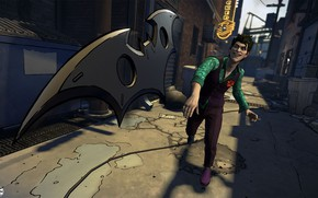 Picture The game, Smile, Joker, Costume, Smile, Joker, Villain, Game, DC Comics, Telltale Games, The batarang, …
