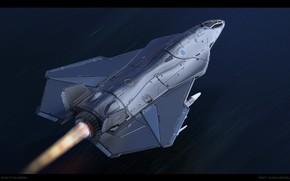 Picture flame, flight, the plane, AUK-17 Aukenk
