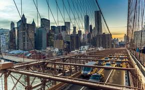 Picture USA, Brooklyn bridge, Manhattan, Brooklyn Bridge