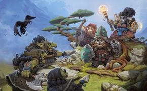 Picture the game, fantasy, art, Allods Online, Arcana_Gib, Dmitry Khrapovitsky