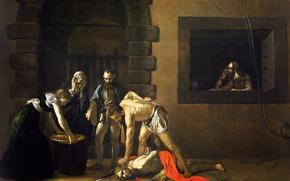 Picture picture, religion, Caravaggio, mythology, Michelangelo Merisi da Caravaggio, The Beheading Of John The Baptist