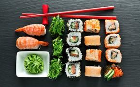 Picture algae, figure, sushi
