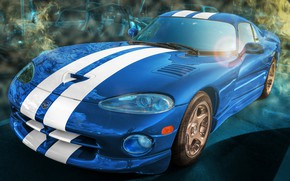 Wallpaper sports car, Dodge Viper, GTS