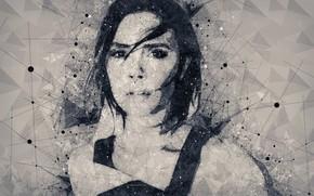 Picture portrait, celebrity, Victoria Beckham