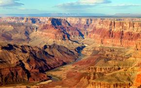 Picture mountains, rocks, Desert, arid