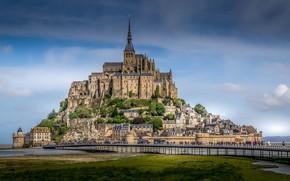 Picture the city, France, beauty, Mont-Saint-Michel