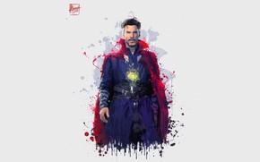 Picture background, art, actor, character, Doctor Strange, Avengers: Infinity War, the Avengers: infinity war
