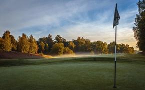 Wallpaper golf, field, sport