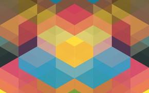 Picture fantasy, Wallpaper, colored
