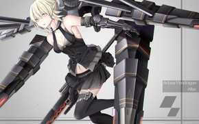 Picture mecha, weapon, anime, pretty, warrior, manga, oppai, bishojo, light novel, japonese, Fate Series, Fate Grand …