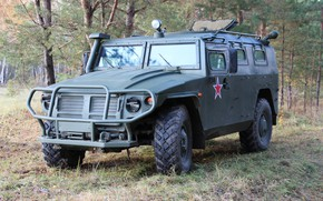 Picture Tiger, armored car-SUV, GAZ Tigr