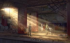 Picture Hong Kong 2047, mong kok, Sci-Fi Movie, interrogation scene