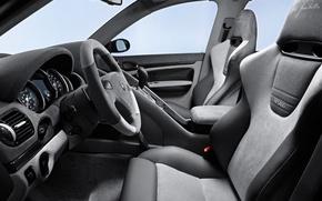 Picture Porsche, the wheel, seat, salon, dashboard, gemballa
