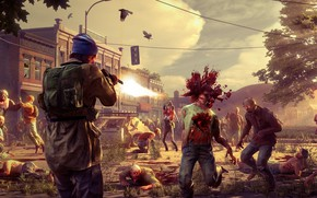 Picture gun, blood, game, undead, weapon, fight, shotgun, State of Decay, State of Decay 2, zobie