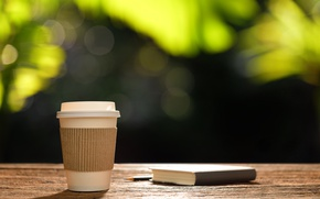 Picture coffee, morning, Cup, book, hot, heart, romantic, coffee cup, good morning